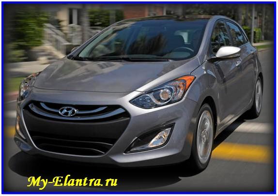 Hyundai Elantra GT версия