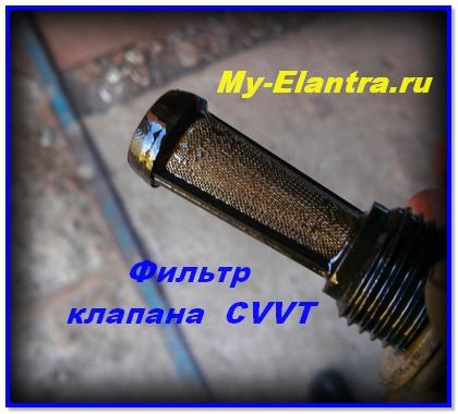 Фильтр датчика CVVT
