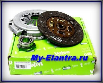 Сцепление для Hyundai Elantra Valeo HDK 204