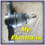 Замена шаровой опоры + стоек стабилизатора на Elantra HD