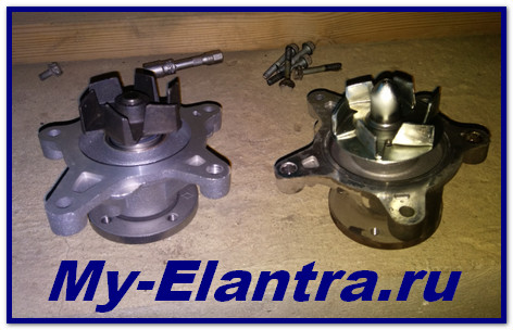 Hyundai Elantra HD Water Pump Cooling System