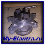 Replacing the water pump in Elantra 4