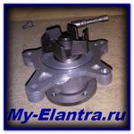 Replacing the water pump in Elantra 4