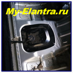 Замена фильтров бензонасоса на Elantra HD