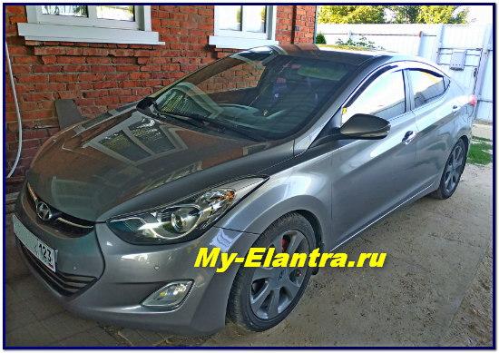 Hyundai Avante MD 1.6 GDI