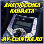 Самодиагностика климата Hyundai Avante/Elantra MD